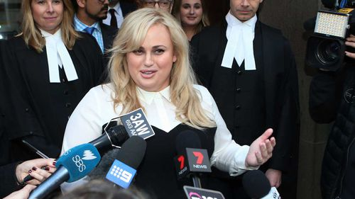 Rebel Wilson has hit out at the Court of Appeal decision which saw her defamation payout slashed. Picture: AAP