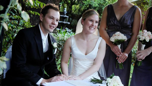 Woman diagnosed with incurable brain cancer four months after wedding