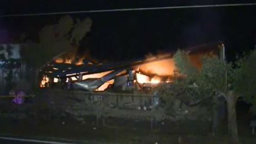 Suspicious fire destroys western Sydney laundry