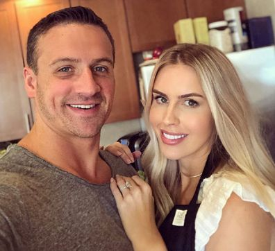Former model Kayla Lochte breast implant removal with swimmer husband