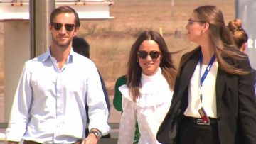 Pippa and James touch down in Darwin
