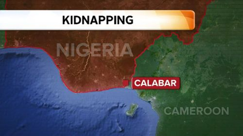 The group were attacked on the outskirts of Calabar. (9NEWS)