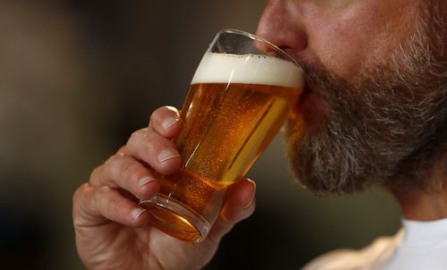 The amount of alcohol drunk by Australians in the last financial year fell to the lowest level since the 1960s.