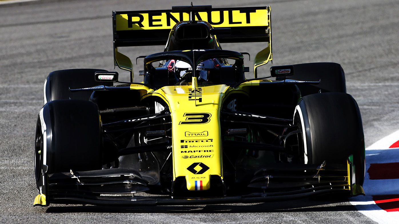 Renault driver Daniel Ricciardo