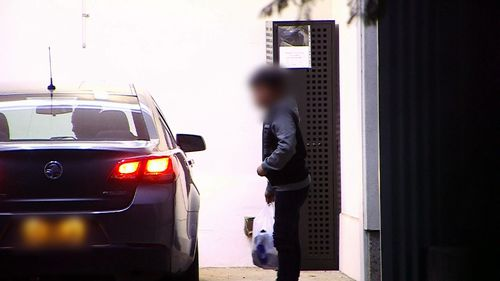 The 12-year-old boy was reunited with his family on Sunday. (9NEWS)