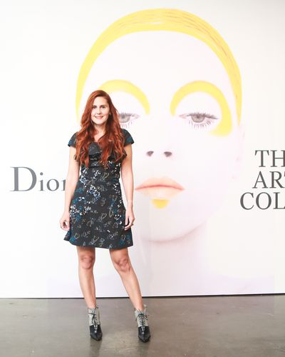 Nikki Pennie at the launch of Dior - The Art of Colour.