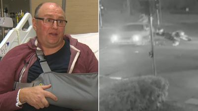 Motorcyclist 'left for dead' after sickening hit-run