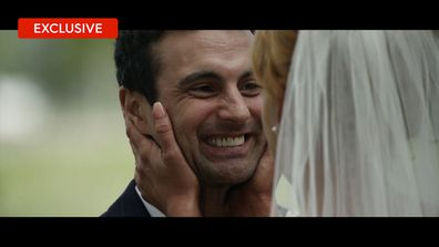 All the vows, the first look, the rings and that first kiss.