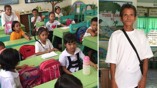 Farmer, 52, returns to school as Year One student
