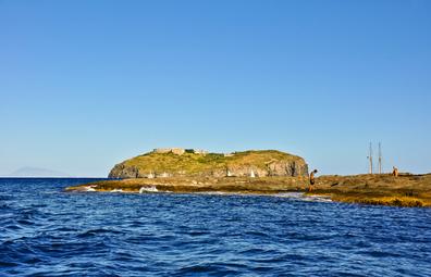 Santo Stefano island, Italy