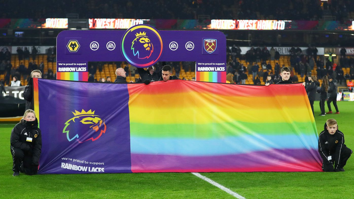 The EPL's LGBT campaign