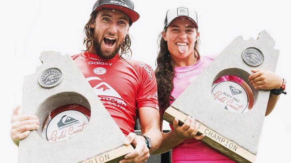 Wilko wins World Surf League event