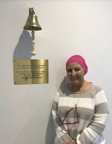 Cancer Karina Stell Life Interrupted book chemo bell