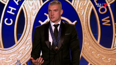 AFL Brownlow Medal 2017: Richmond Tigers star Dustin Martin wins 'Charlie'