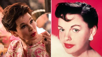 Renee Zellweger, Judy Garland, movie, transformation