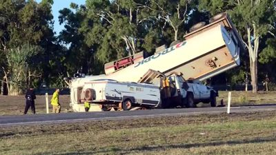 Three people dead in tanker crash north of Bowen