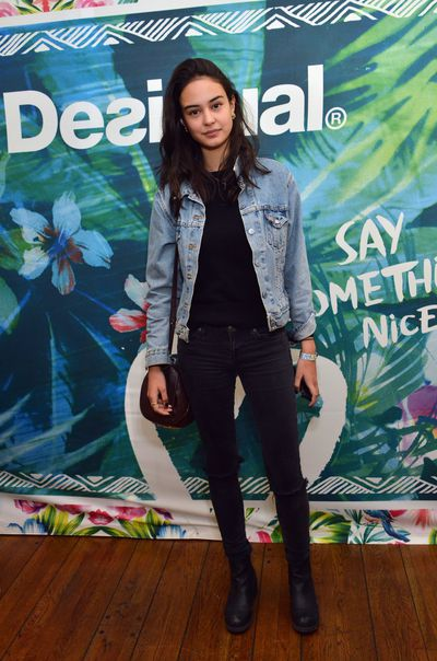 <p>Decked out in denim for the Kari Feinstein's Music Festival in Hollywood, April 2015.</p>