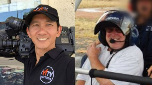 Cameraman Quoc Huong Vu and Ian Cook died in the crash.