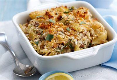Tuesday: Tuna pasta bake