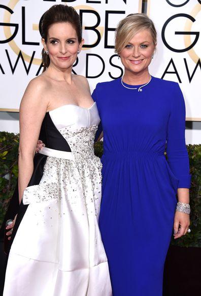 Amy Poehler, Tina Fey, Golden Globe Awards, 2015
