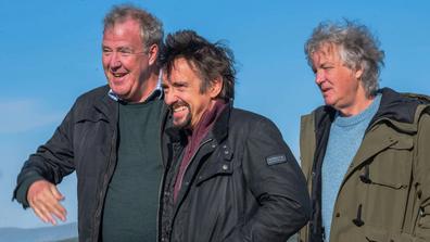 Jeremy Clarkson, James May, and Richard Hammond travel Scotland during lockdown.