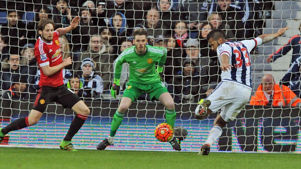 Ten-man Man United sunk by West Brom