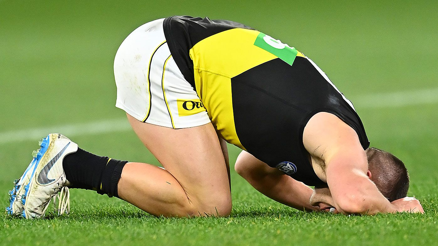 Richmond decimated by injuries to star quartet in gutsy win over Melbourne