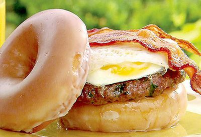 Lady's Breakfast Brunch Burger