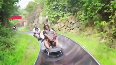 Ciara slammed for bringing infant daughter on toboggan ride