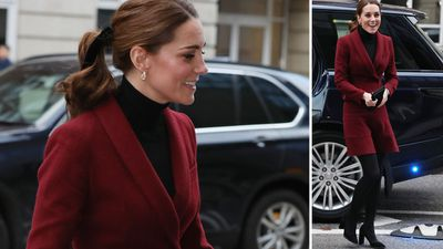 Kate Middleton visits UCL Hospital's Neuroscience Lab in London, November 2018
