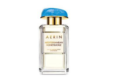 "<a href=""http://www.esteelauder.com.au/product/16617/40163/Landing-Pages/Mediterranean-Honeysuckle/Mediterranean-Honeysuckle/Eau-de-Parfum "" target=""_blank"">Mediterranean Honeysuckle, $165 (50ml EDP), Aerin</a>"