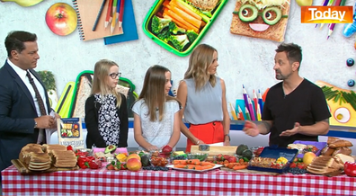'Lunchbox dad' George Georgievski shares tips for back to school lunches.