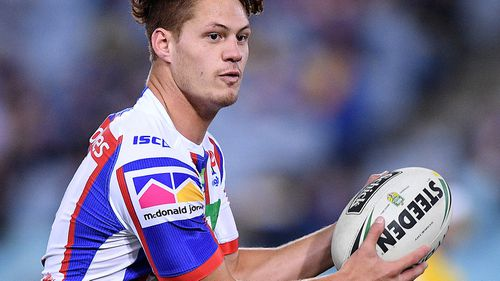 The Newcastle player makes his debut for Queensland in game two of  Origin tonight. Image: AAP