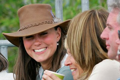 Kate in 2005, when tabloids began to report she was William's new flame.
