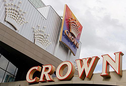Entrance to Crown Melbourne (Getty)