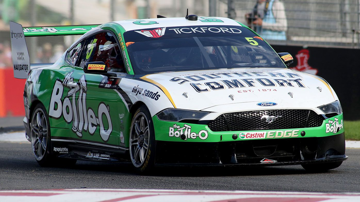 Tickford Racing have been forced to raise the centre of gravity in the Ford Mustang.