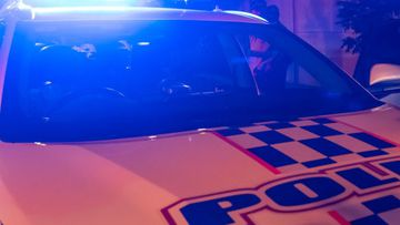 A police officer has been injured after three cars were stolen from a Sunshine Coast property on Monday morning.