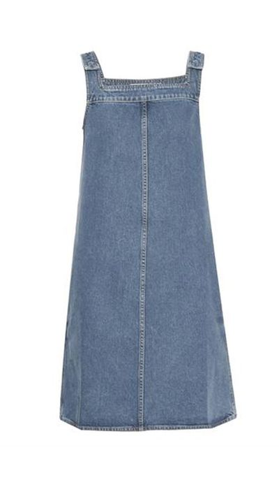 "<a  href=""http: www.matchesfashion.com="" ""="""" product="""" 1008872="""">The Protest Pinafore dress, $337, MIH Jeans</a>"