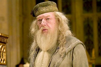 """There's no """"probably"""" about ol' Albus's sexuality: IN 2007, <i>Harry Potter</i> author J.K. Rowling confirmed he played with another's wizard wand in his youth."""