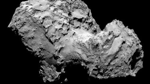 Comet 67-P Photo: ESA/Rosetta/MPS for OSIRIS Team