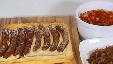 Sausage pudding bake