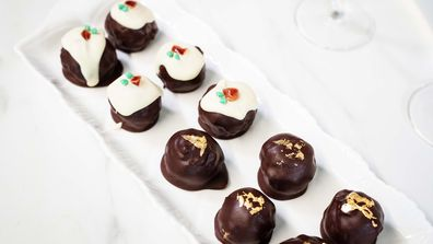 Pudding balls are the easy - and tiny - Christmas pudding fix