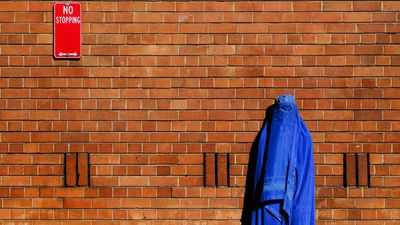 "<p>This photographic series is a follow-up to Muir's 2014 Blue Burqa in a Sunburnt Country.</p> <p>&nbsp;</p> <p>While these images were taken across 2016 - 2017 in Sydney, Muir says he wanted to make it look like this could have been shot in even Paris or New York.</p> <p>&nbsp;</p> <p>""The initial series it's very clear that it's in Australia, it had that nuance but these urban environments are much more universal,"" he tells <em>9Honey</em>.</p> <p>&nbsp;</p> <p>Muir says this new series,a follow-on to his original work, is ""darker and edgier"".</p> <p>&nbsp;</p> <p>""Because it seeks to reflect the current climate overall, I think it does have a somewhat darker and edgier feel.</p> <p>&nbsp;</p> <p>""The burqa-clad figure has a greater sense of challenge and confrontation and even alienation, integrating into society as it currently is.""</p>"