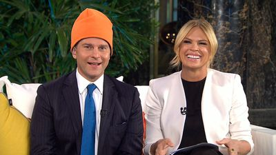 Mornings' David Campbell and Sonia Kruger.