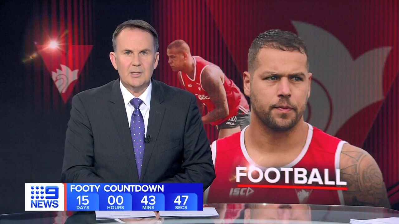 Sydney Swans star Lance Franklin injures hamstring at training