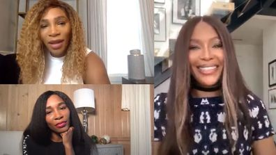 Serena Williams and Venus Williams on Naomi Campbell's YouTube show