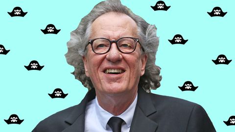 Geoffrey Rush Pirates