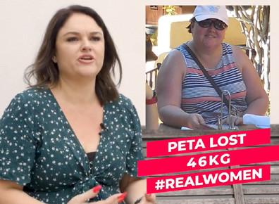 Peta The Lady Shake weight loss story