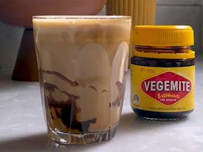 Barista pranks TikTok with 'classic' Vegemite latte, and Australia gloriously commits to the bit