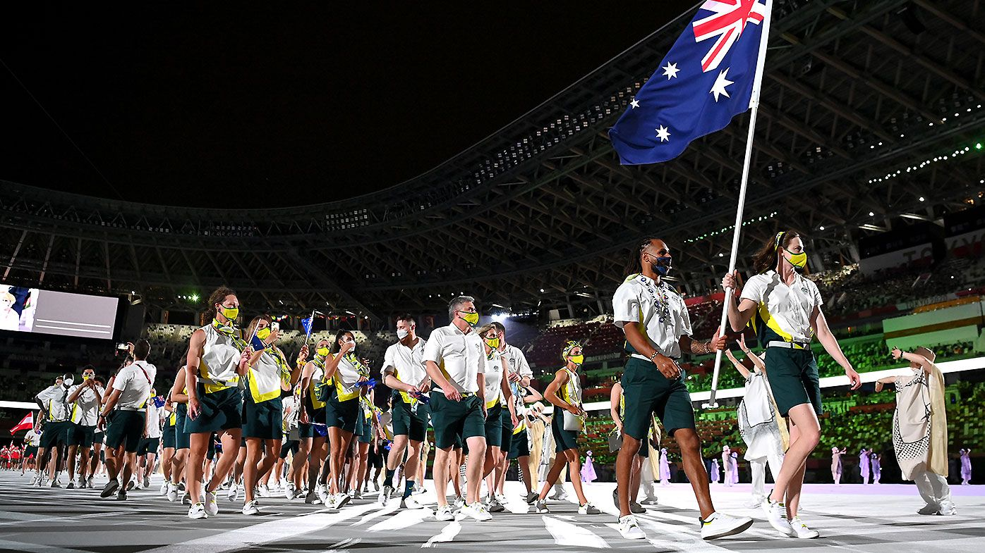 Tokyo Olympics 2021: Patty Mills and Cate Campbell create history at Opening Ceremony